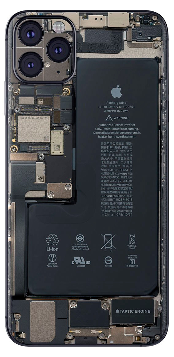 reparar placa base iPhone 11 Pro max